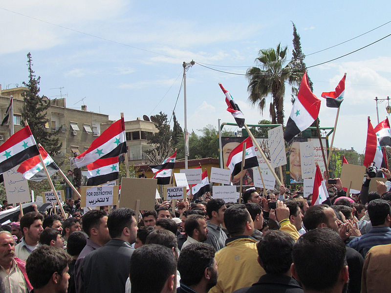 Syrian_Demonstration_Douma_Damascus_08-04-2011