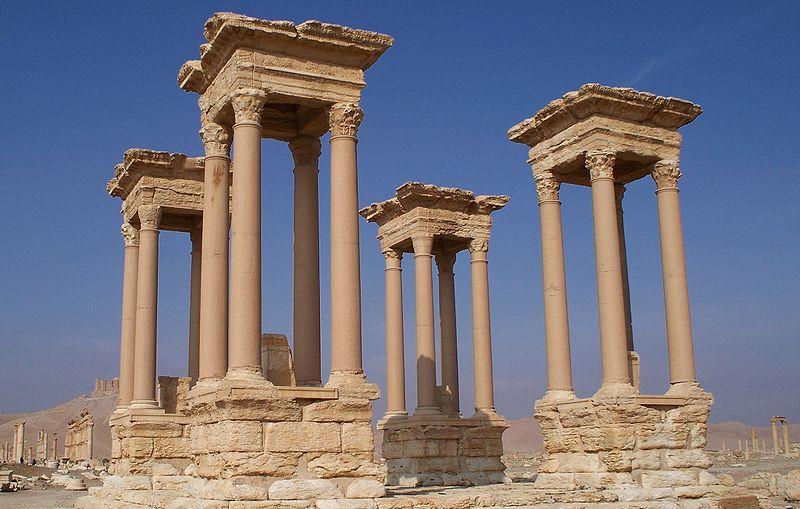 Tetrapylon_Palmyra