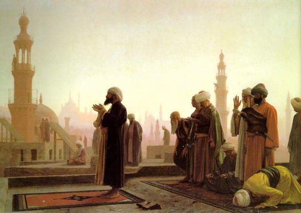 800px-Prayer_in_Cairo_1865