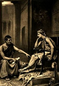 417px-Aristotle_tutoring_Alexander_by_J_L_G_Ferris_1895