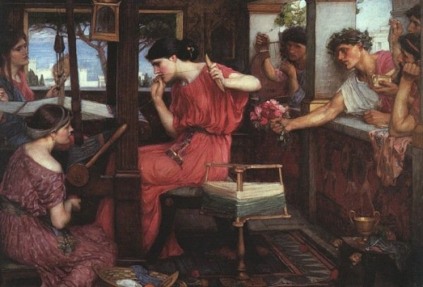 odissea_penelope-john-william-waterhouse