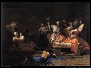 Jean François Pierre Peyron - La morte di Socrate