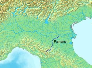 LocationPanaroRiver