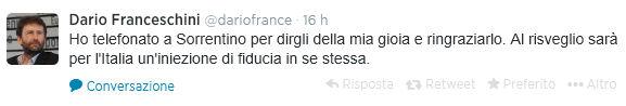 tweet franc