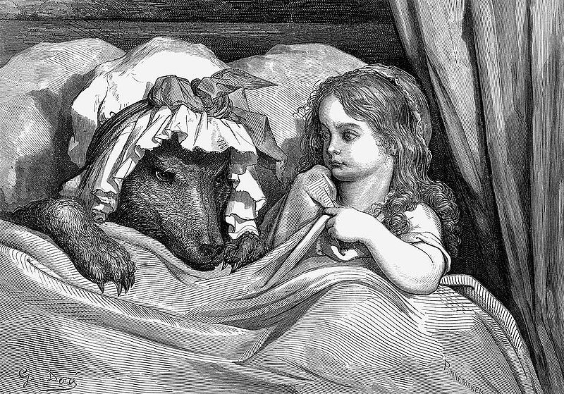 800px-GustaveDore_She_was_astonished_to_see_how_her_grandmother_looked