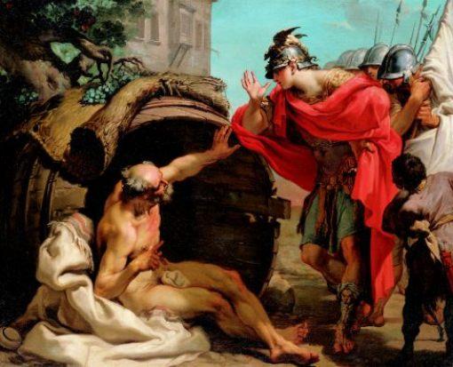 Gaetano_Gandolfi_-_Alexander_and_Diogenes