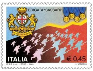 Brigata_Sassari_francobollo