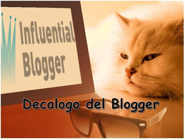 Decalogo del Blogger
