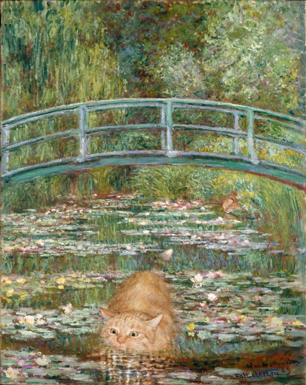 Monet-Bridge_Over_a_Pond_of_Water_Lilies_cat-alone-w