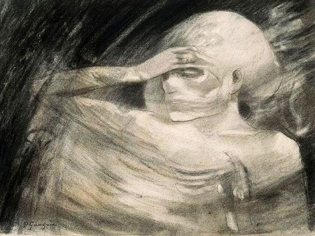 800px-Madame_la_mort_-_Paul_Gauguin