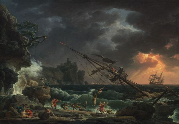 Vernet,_Claude_Joseph_-_The_Shipwreck_-_1772
