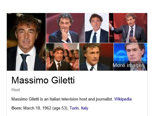 L'eroico Giletti su Google.