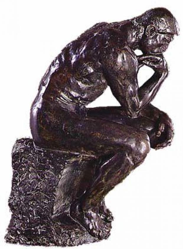 Auguste Rodin - Le Penseur (Il Pensatore)