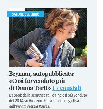Screenshot dal Corriere.it