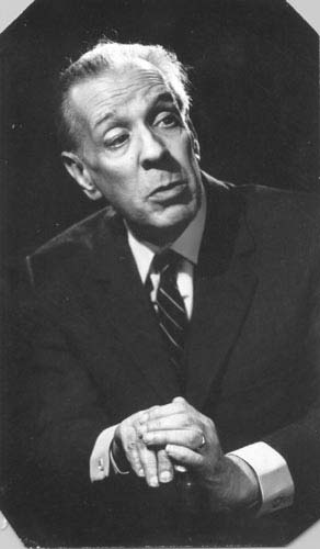 Borges in 1976.