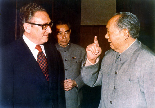 Henry Kissinger e Mao Zedong