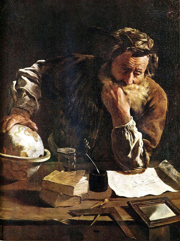 Archimede corroso dal dubbio