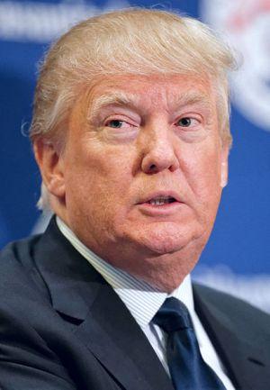Donald Trump by Michael Vadon