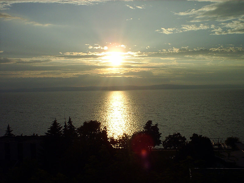 """Il lago Balaton, detto anche """"il mare degli ungheresi"""""""