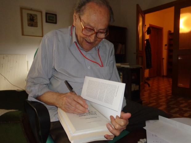 Massimo Pittau, 9 settembre 2015