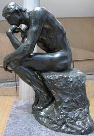 Auguste rodin, The Thinker, 1881-1882