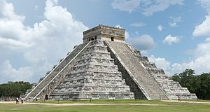 El Castillo, at Chichen Itza - Source Wikipedia