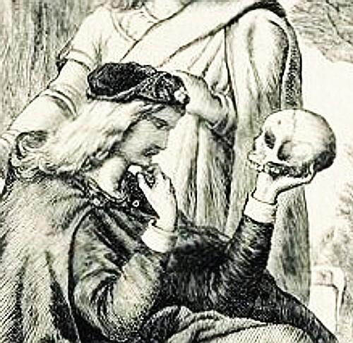 Amleto e il teschio di Yorick