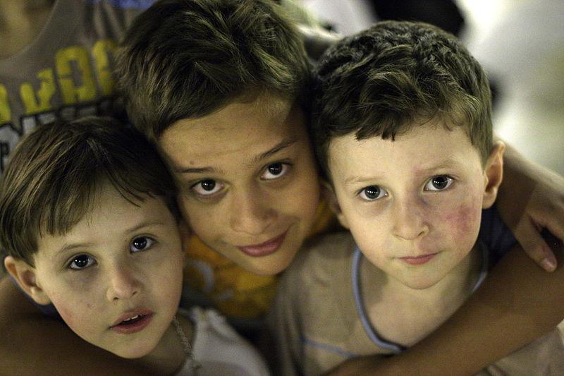Children in Aleppo, source Wikipedia.
