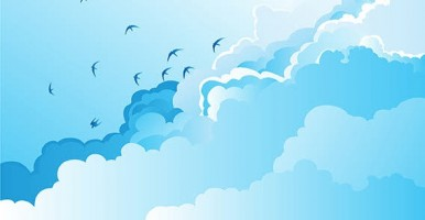 nature_birds_silhouettes_sky_clouds_free_vector_5561