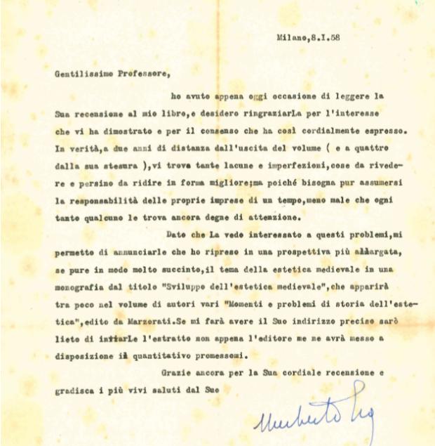 lettera di eco