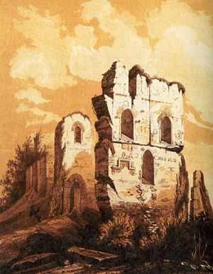 Church_of_Tithes,_Kiev,_ruins_in_1826