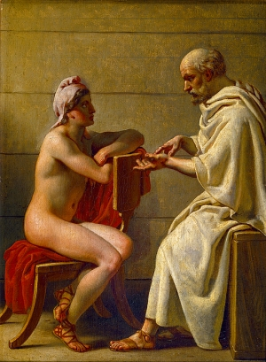Socrates_and_Alcibiades,_Christoffer_Wilhelm_Eckersberg