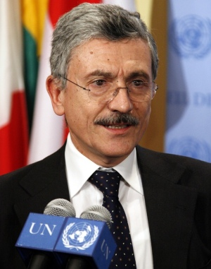Italian Minister for Foreign Affairs Massimo D'Alema