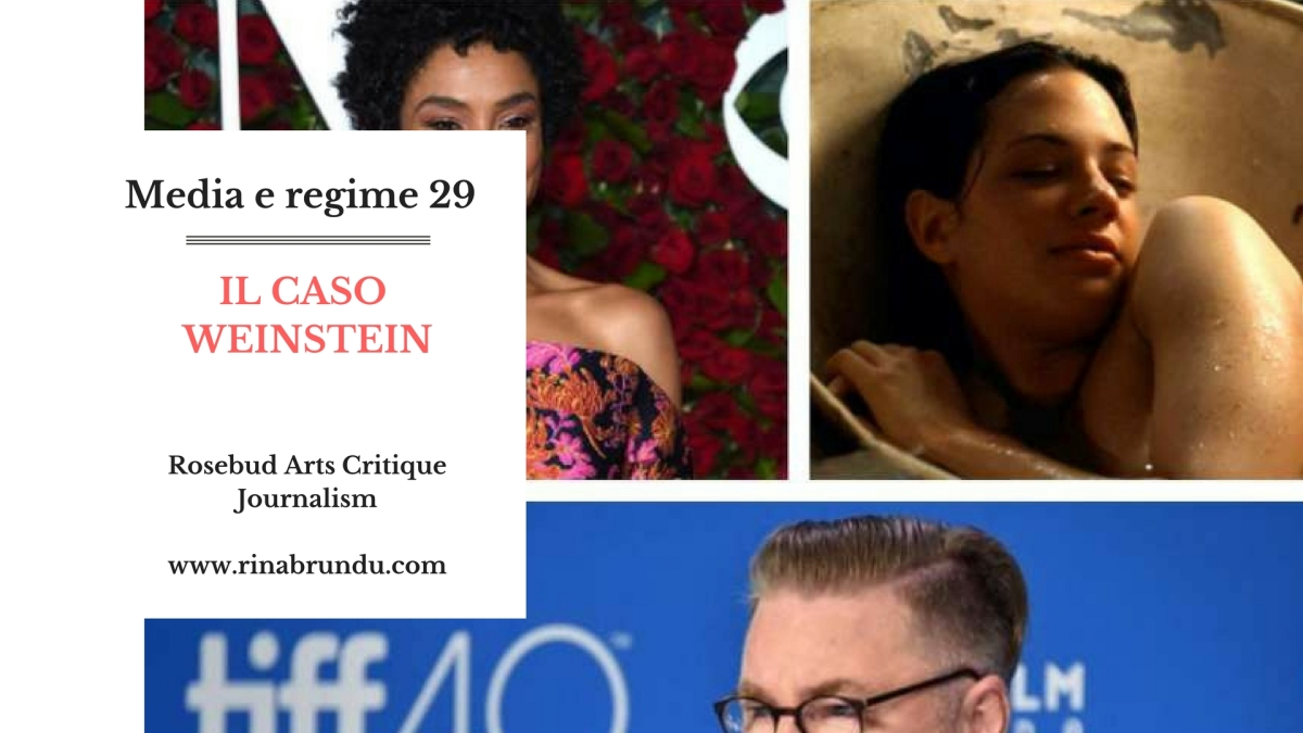 """Media e regime (29) – Il Caso Weinstein. Asia Argento, who? E dal """"tenero"""" incontro Marina Ripa di Meana – Scalfari timorato di Dio alla sputtanata di """"Variety""""."""