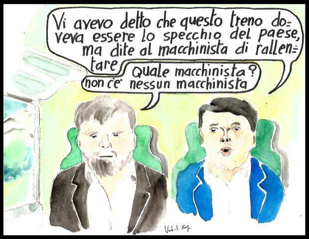 il treno di Renzi, ovvero un paese ad altà velocità