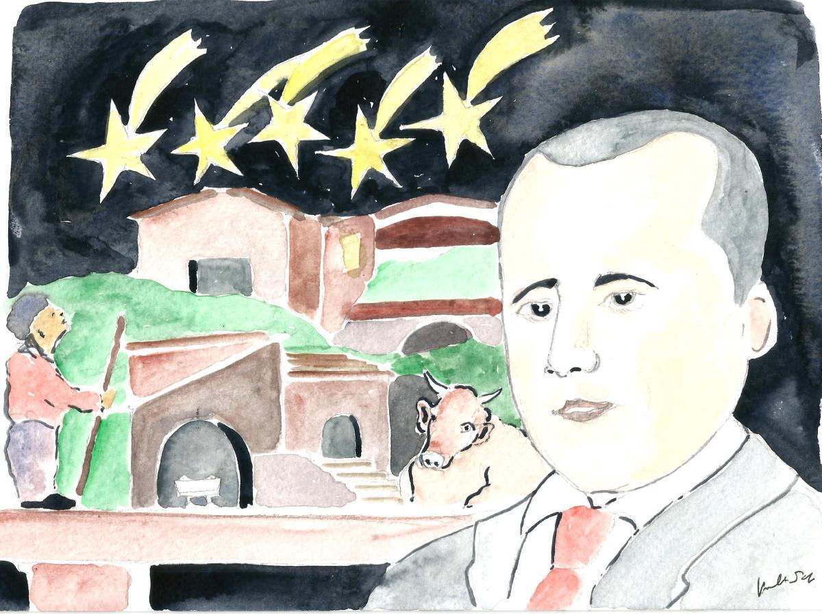 Umberto Scopa - Natale in casa Di Maio