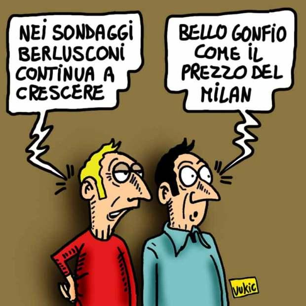 Berlusconi-gonfiato