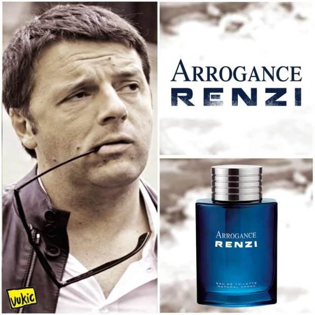 RENZI-ARROGANCE