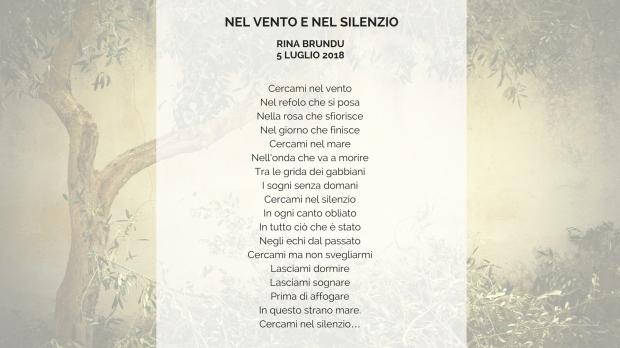 NEL VENTO E NEL SILENZIO (1)