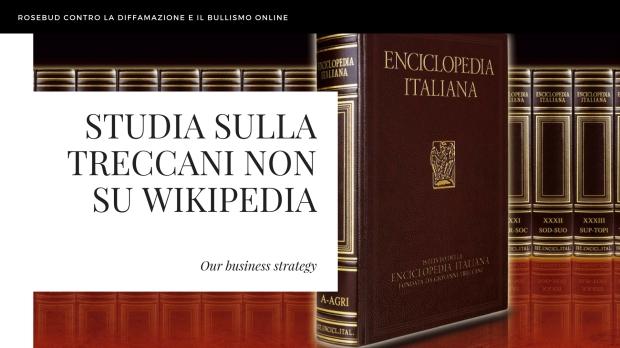studia sulla treccani non su wikipedia