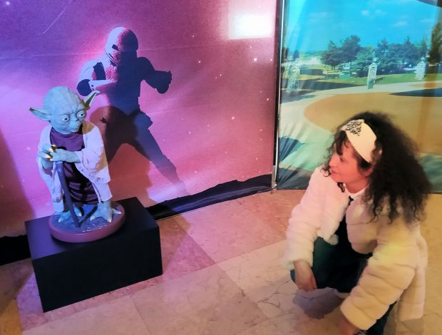 Rina Yoda Nasa Exhibition
